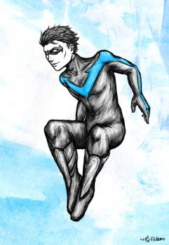 Nightwing by tildemo