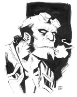Hellboy Quickie by deankotz