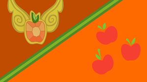 Applejack Honesty Wallpaper (Simple version) by Game-BeatX14