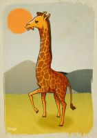 look at my giraffe by hiugo