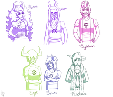 Fantroll Doodles by MiseryGk