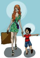 One Piece, Shopping day by heivais