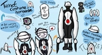 Portal - Turret Costume by oddsocket