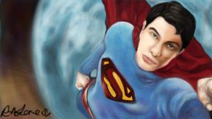 Superman by RosemaryAnneYou