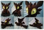 Chao Toothless the Night Fury by Feneksia-Creations