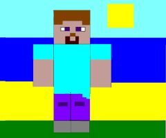 Steve From Minecraft by NikeMan223