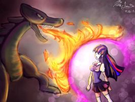 Dragon Magic by mia-lunaria