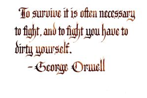 George Orwell - To Survive by MShades