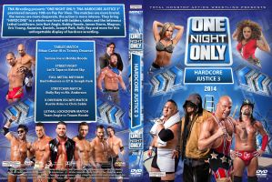 TNA One Night Only Hardcore Justice 3 DVD Cover by Chirantha