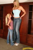 Amazon Cassidy with short woman by lowerrider