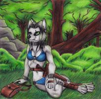 Liandra In The Forest by Specter1099