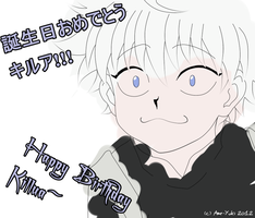 Happy Birthday Killua by Ame-Yuki