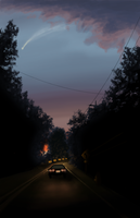 Night Time Drive by Nayolfa
