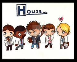 house md cast by EatToast