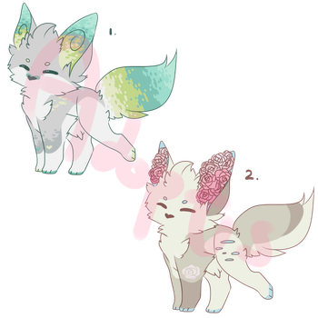 [ 1/2 open   ota ] smols by staarryadopts