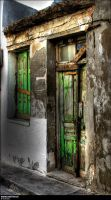 Greece - Old house by mdfoto