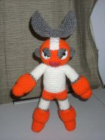 Cut Man Plushie by black-moon-flower