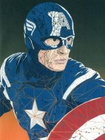 Captain America the First Avenger by frecklesmile