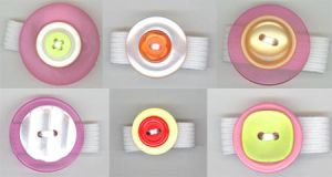 Funky Button Rings by RyuuseiHime