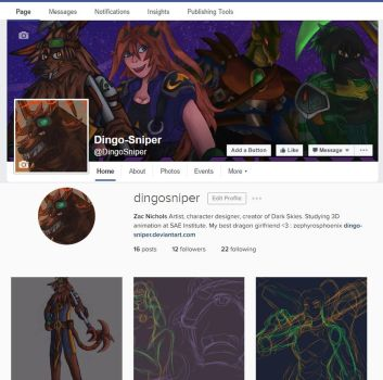 PSA: Instagram and Facebook pages! by Dingo-Sniper