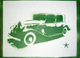 Car Stencil by josiahbrooks