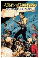 Army of Darkness: Convention Invasion cover. by RobertHack