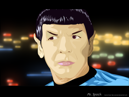 Mister Spock - Vector by Ccarcia3