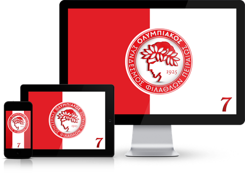 Olympiacos FC Wallpaper Mobile Screensavers by graphomet