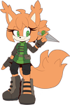 Necole The Squirrel Reference by Fivey
