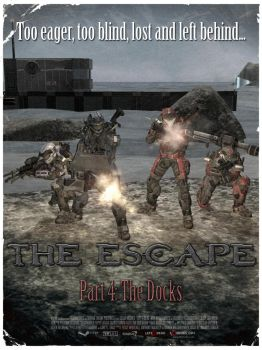 HALO L4D Poster 4 - The Docks by DharionDrahl