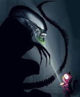 Alien VS Predator by Katie-Grace