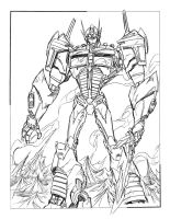 OPTIMUS PRIME by cheetor182