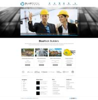 BlueRock Services Web Design by vasiligfx