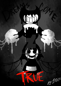 Dreams come true (Bendy and Chara) by Lord-32