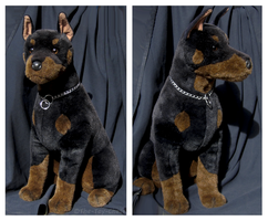 Douglas Cuddle Toys - Apollo Doberman by The-Toy-Chest