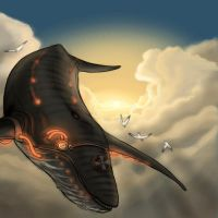 Pilot Whale by eveh