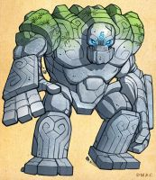 Stone Colossus by D-MAC