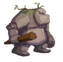 Rock Troll by bmaras