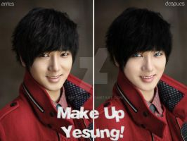 Make Up of Yesung by Briixday