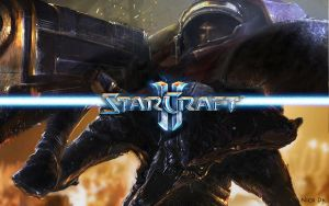Starcraft 2 by NickDk