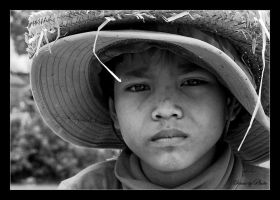 Cambodian Boy by SmartyPhoto