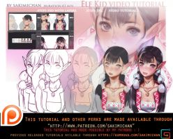 Elf kid video tutorial pack.promo. by sakimichan
