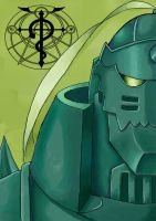 Alphonse Elric by zeoyster
