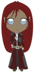 $1 Chibi - Lady Shade Base Color by KitOnlyHuman
