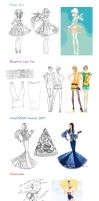 From Sketch to Vector by lanitta