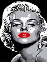 Marilyn Monroe.. by ladyjart