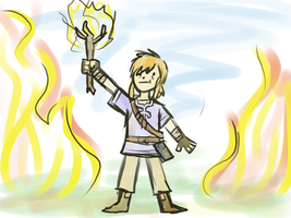 Hero of Flames by Pozem