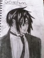 sebastian from Black butler by katieeee97