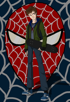 Peter Parker colored by Maygirl96