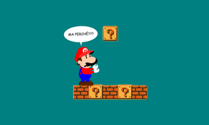 Mario - Existential crisis by chingolobird